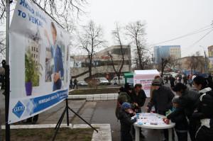 Празднование восьмилетия основания компании ТМ Сучасне Вікно в г. Черкассы