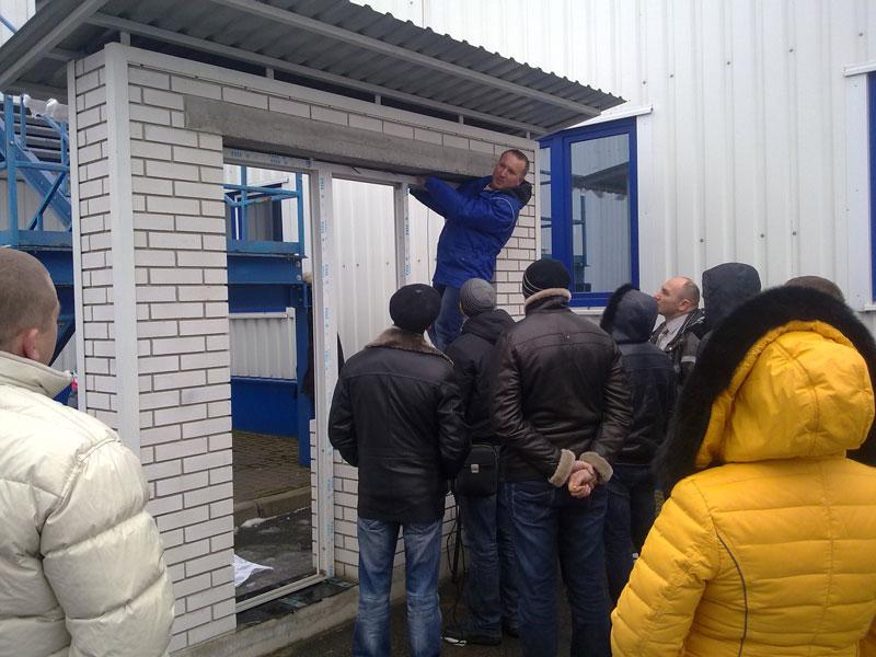 Монтажники ТМ Сучасне Вікно приняли участие в техническом семинаре