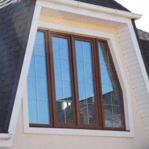 Треугольные и трапециевидные окна